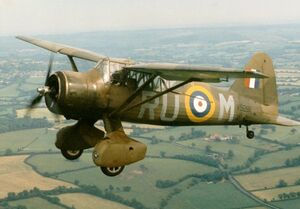 Lysander V9281 preserved woodford UK