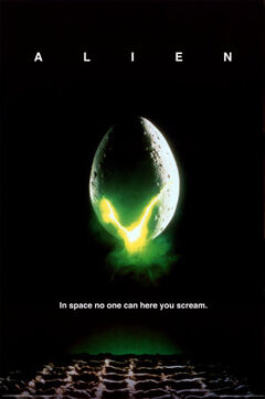 Alien poster 1979 cut