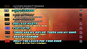 Achievements Page HML2