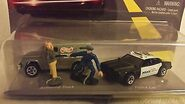 Hot Wheels Police Force Action Pack Police Car, Armored Truck, & Police Officer & Criminal Figures