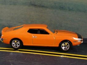 AMC Javelin AMX Orange
