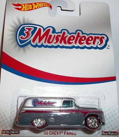 File:HW-Mars M&M-'55 Chevy Panel-3Musketeers..jpg
