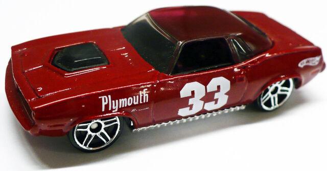 File:Plymouth Barracuda Dark Red.jpg