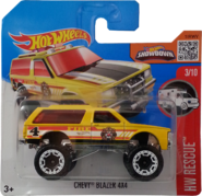 Chevy Blazer 4x4 package front