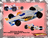 2012 New Models 2011 Indycar Oval Course Race Car