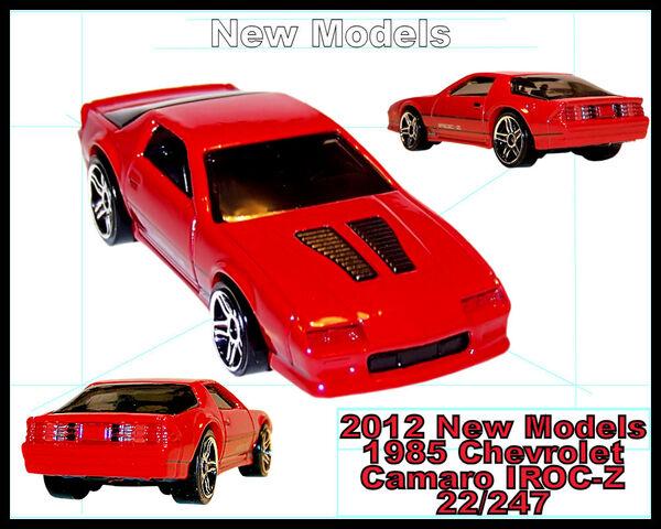 File:2012 New Models 1985 Chevrolet IROC-Z.jpg