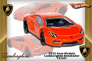 2012 New Models Lamborghini Aventador