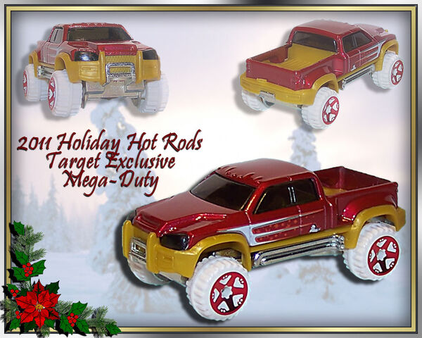 File:2011 Holiday Hot Rods Target Exclusive Mega-Duty.jpg