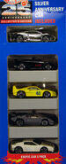 1993 25th Anniversary Exotic Car 5 Pack