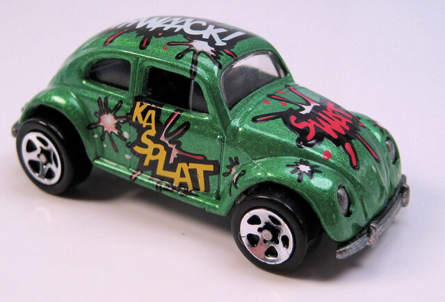 File:VW bug biff bam boom green metallic 5sp wheels.JPG