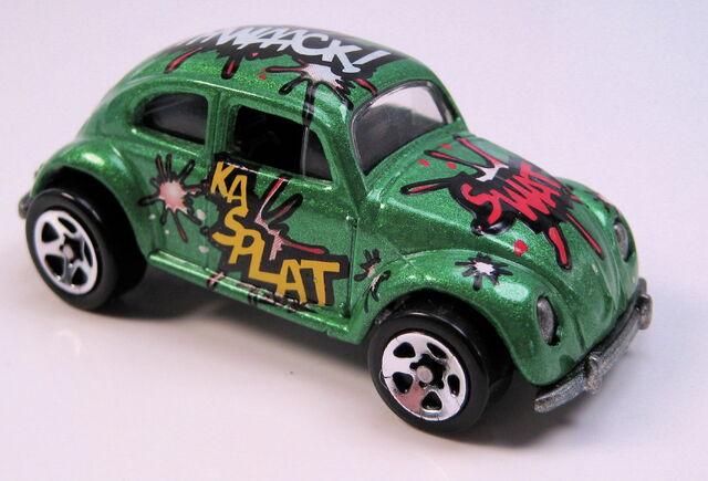 File:VW bug biff bam boom green metallic 5sp wheels.JPG