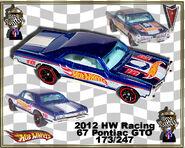 2012 HW Racing 67 Pontiac GTO