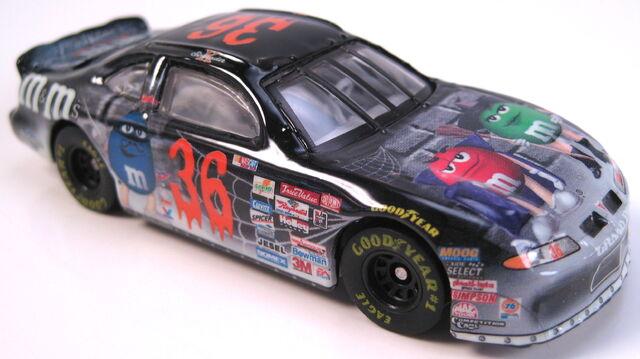 File:NASCAR Pontiac Grand Prix ken schrader M&Ms halloween.JPG