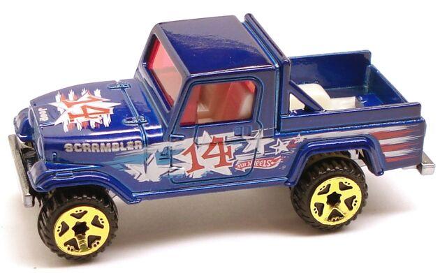File:JeepScrambler FlagDay.JPG