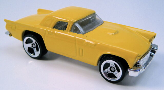 File:57 t-bird 3sp yellow ford 5-pack.JPG