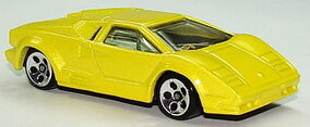 25th anniversary lamborghini countach hot wheels wiki fandom powered by wikia. Black Bedroom Furniture Sets. Home Design Ideas