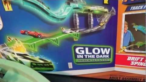 Glow-In-The-Dark Wall Tracks
