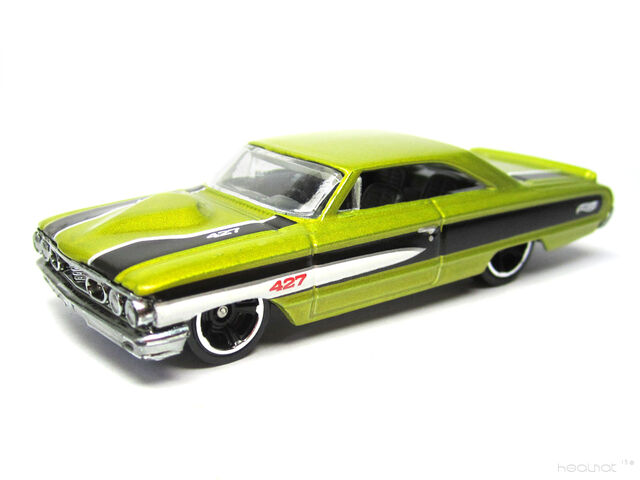 File:Hot Wheels 2012 Custom 64 Galaxie 500 Mirco Yellow MC5 Kmart .jpg