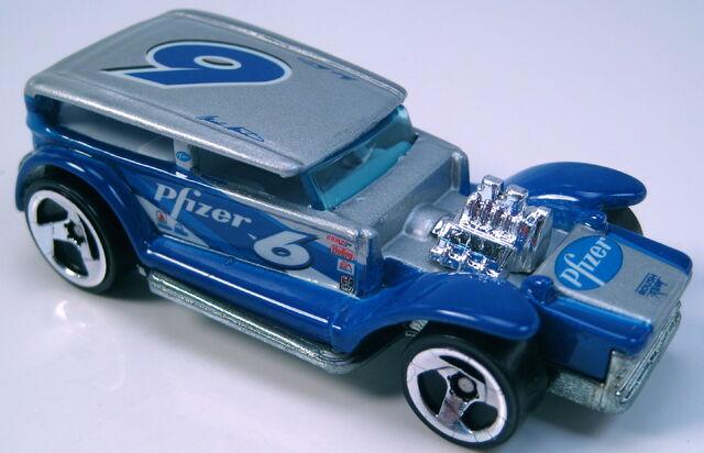 File:The demon NASCAR pfizer 3sp wheels metal Thailand base.JPG