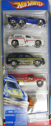 Hot Wheels City 5-Pack