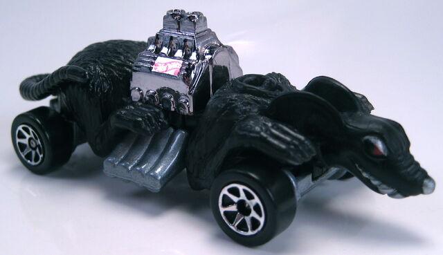 File:Ratmobile black painted base 7sp wheels.JPG