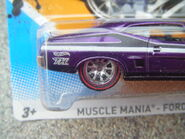 Hot Wheels 2012 120 1973 Ford Falcon XB Super treasure hunt 2 rear