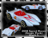 2008 Speed Racer (Single Pack) Mach 5