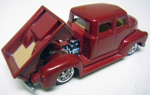 File:50s Chevy Truck - Dark Red UH-Back.JPG