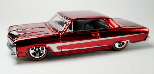 File:'65 Chevelle Malibu-2007 Hot Wheels Classics Red.jpg