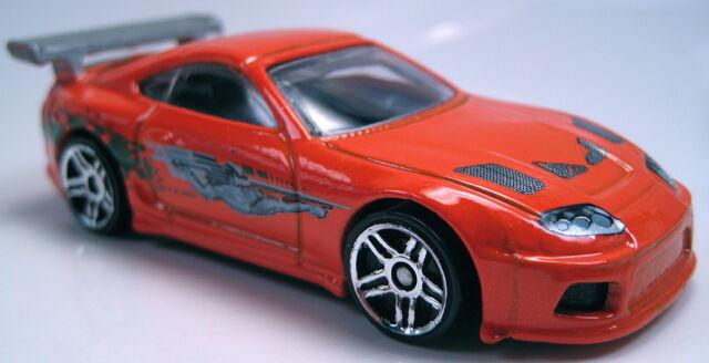 File:Toyota Supra orange fast furious series PR5 2013.JPG