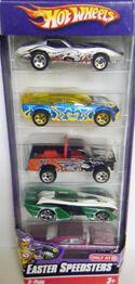 08 Easter Speedsters 5-Pack