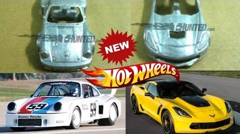 2017 Prototype Hotwheels C7 Z06 Corvette and Porsche 934.5