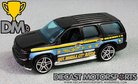 Hot Wheels City 5 - 07 Chevy Tahoe