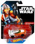 CGW38 Hot Wheels Star Wars Character Car Luke Skywalker XXX