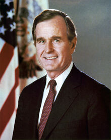 George H. W. Bush, President of the United States, official portrait