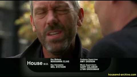 """House MD 6x07 """"Known Unknowns"""" Promo 01"""