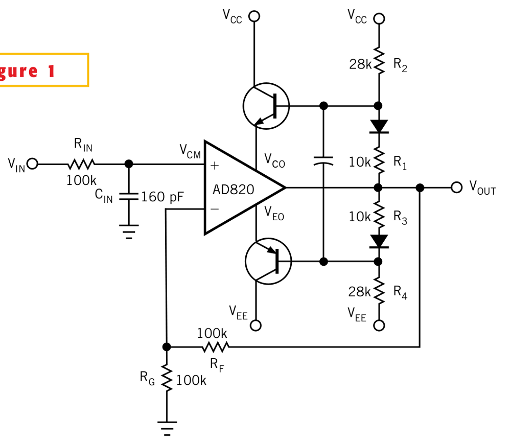 Three Band Active Tone Control With Tl additionally  likewise Blinking Led Circuit moreover Mag ic Phono Cartridges Transistor RIAA Pre  L52934 additionally How to boost the output voltage swing of an operational  lifier. on jfet circuit diagram