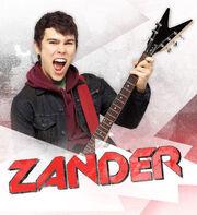Zander cool cat