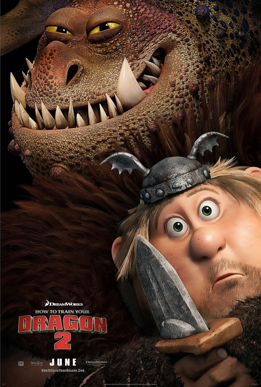 How To Train Your Dragon 2 Hiccup And Toothless Poster Fishlegs-cronkle-how-to-train-
