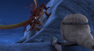 Edgewing attacks Astrid