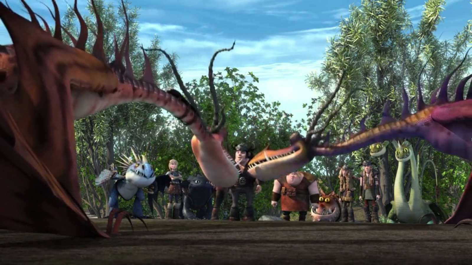 how to train your dragon new season