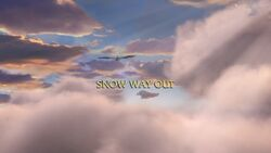 Snow Way Out title card