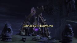 Imperfect Harmony title card