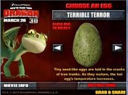 Terrible terror egg