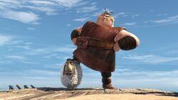 Fishlegs as Thor Bonecrusher