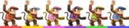 Diddy Kong Palette (SSBB)