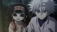 Killua and Nanika - 143
