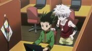 Gon and Killua - Ep 41