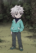 24 - Young Killua outfit