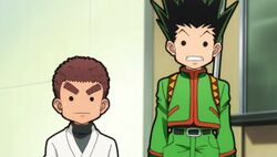 Gon and zushi surprised